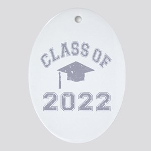 Class Of 2022 Graduation Ornament (Oval)