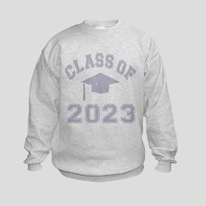 Class Of 2023 Graduation Kids Sweatshirt