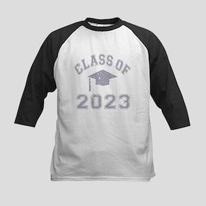 Class Of 2023 Graduation Kids Baseball Jersey