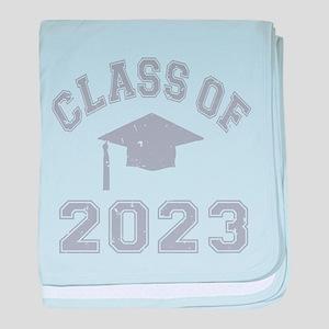 Class Of 2023 Graduation baby blanket