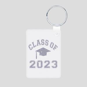 Class Of 2023 Graduation Aluminum Photo Keychain