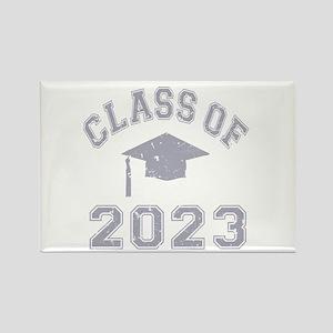 Class Of 2023 Graduation Rectangle Magnet