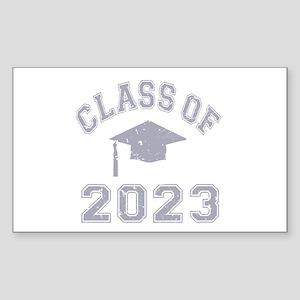Class Of 2023 Graduation Sticker (Rectangle)