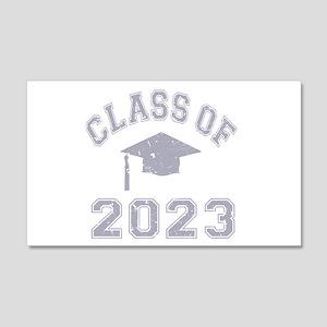 Class Of 2023 Graduation 22x14 Wall Peel
