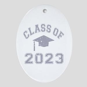Class Of 2023 Graduation Ornament (Oval)