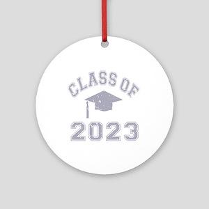 Class Of 2023 Graduation Ornament (Round)