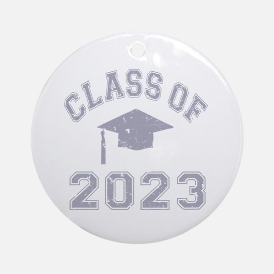 Class Of 2023 Graduation Ornament (Round)