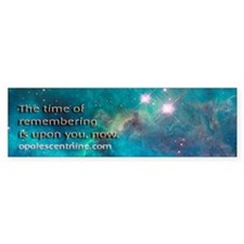 "Pleiadian Renegades ""Remembering"" bumper"