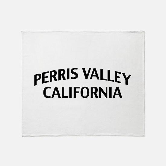 Perris Valley California Throw Blanket