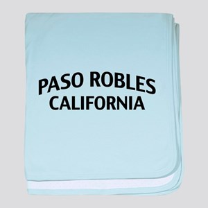 Paso Robles California baby blanket