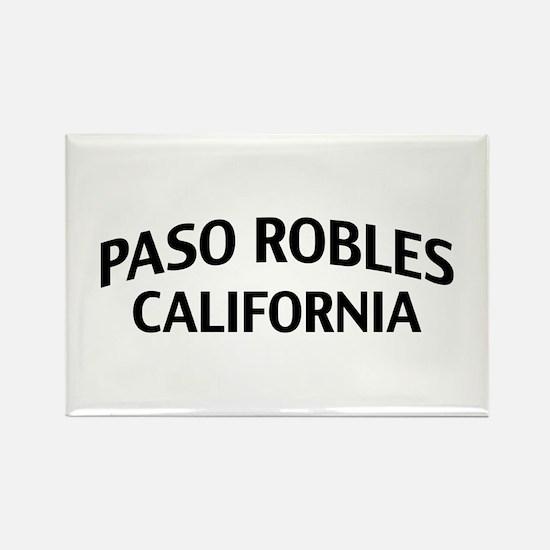 Paso Robles California Rectangle Magnet