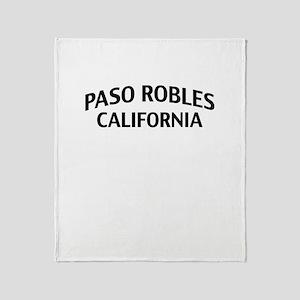 Paso Robles California Throw Blanket