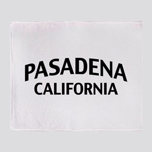 Pasadena California Throw Blanket