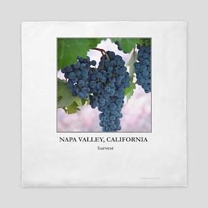 Napa Valley Wine Country Gift Queen Duvet