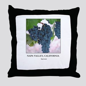 Napa Valley Wine Country Gift Throw Pillow