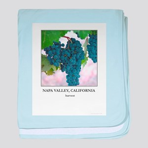Napa Valley Wine Country Gift baby blanket