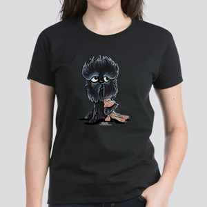 Affenpinscher Pattern Women's Dark T-Shirt