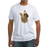 French Bulldog Fitted T-Shirt