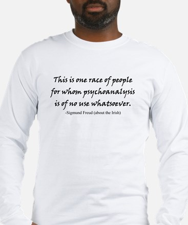 irishpsychoanalysis Long Sleeve T-Shirt