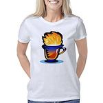 Pop Art - 'Tea Cup' Women's Classic T-Shirt