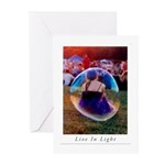 The Bubble Girl Greeting Cards (Pk of 10)