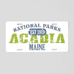 Acadia National Park Maine Aluminum License Plate