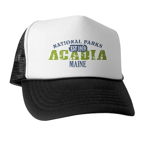 Acadia National Park Maine Trucker Hat