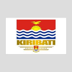"""""""kiribati Flag"""" 38.5 x 24.5 Wall Peel"""