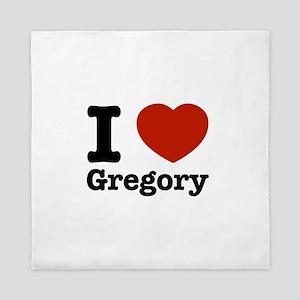 I love Gregory Queen Duvet