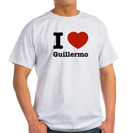 I love Guillermo Light T-Shirt