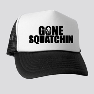 AUTHENTIC Bobo GONE SQUATCHIN Trucker Hat
