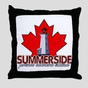 Summerside Lighthouse Throw Pillow