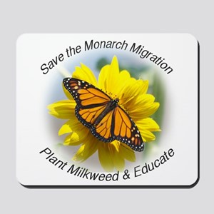 Save the Monarch Mousepad