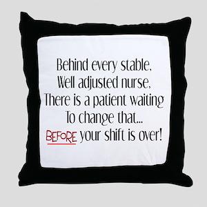 Nurse Humor Throw Pillow