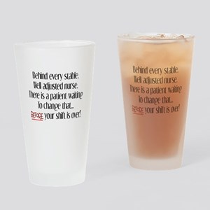 Nurse Humor Drinking Glass