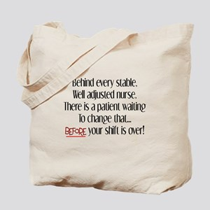 Nurse Humor Tote Bag