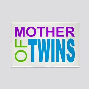 MOTHER OF TWINS Rectangle Magnet