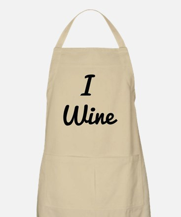 I Wine Light Apron
