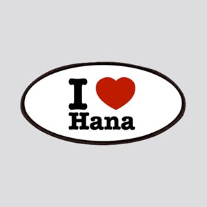 I love Hana Patches