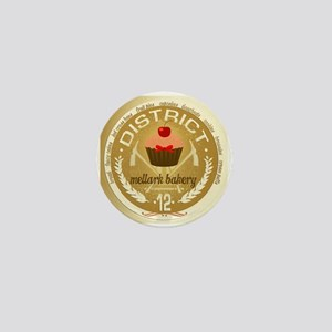 Antique Mellark Bakery Seal Mini Button