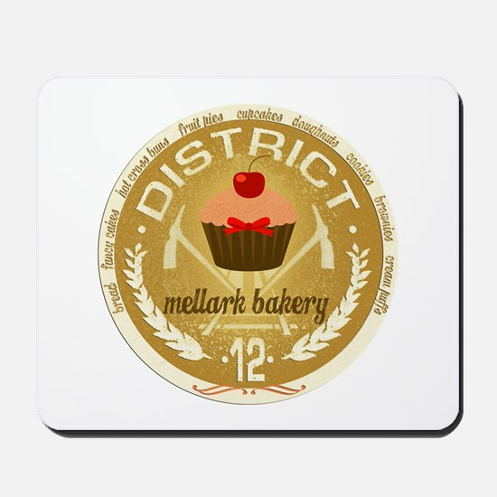 Antique Mellark Bakery Seal Mousepad