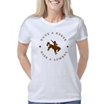 Save a horse ride a cowboy Women's Classic T-Shirt