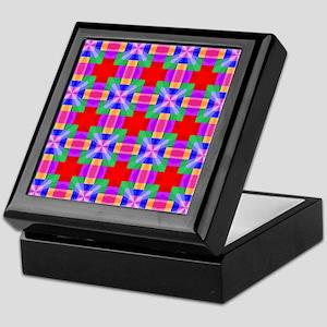 Squares and Angles Keepsake Box