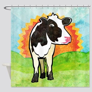 Dairy Cow Shower Curtain