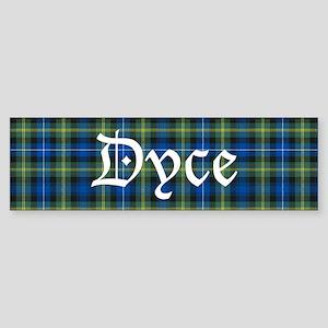 Tartan - Dyce Sticker (Bumper)