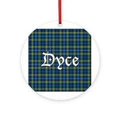 Tartan - Dyce Ornament (Round)