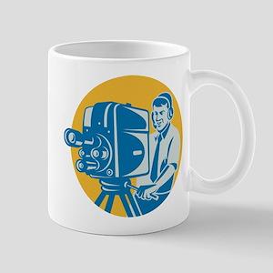 TV Cameraman retro Mug
