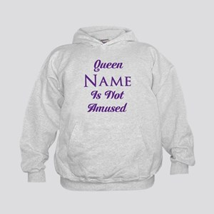 Personalized Queen Amused Kids Hoodie