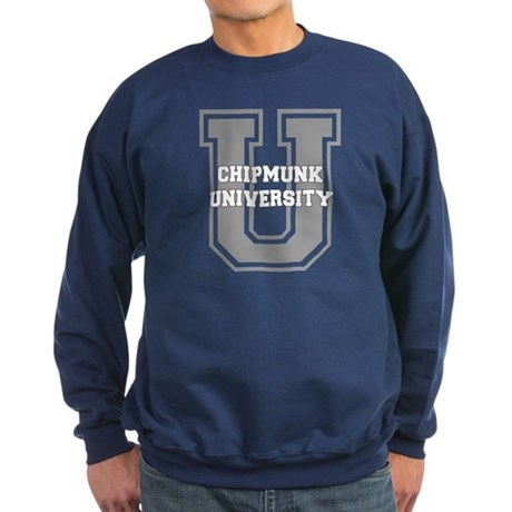 Chipmunk UNIVERSITY Sweatshirt (dark)