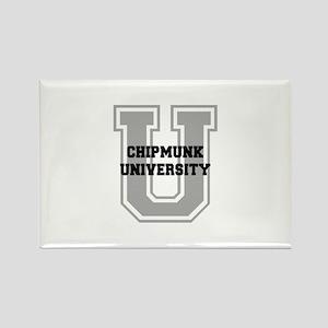 Chipmunk UNIVERSITY Rectangle Magnet